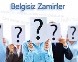 Belgisiz Zamir