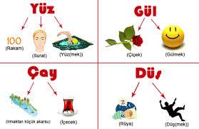 Eş Sesli Kelimelere Örnekler